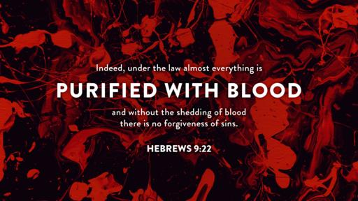 Hebrews 9:22 verse of the day image