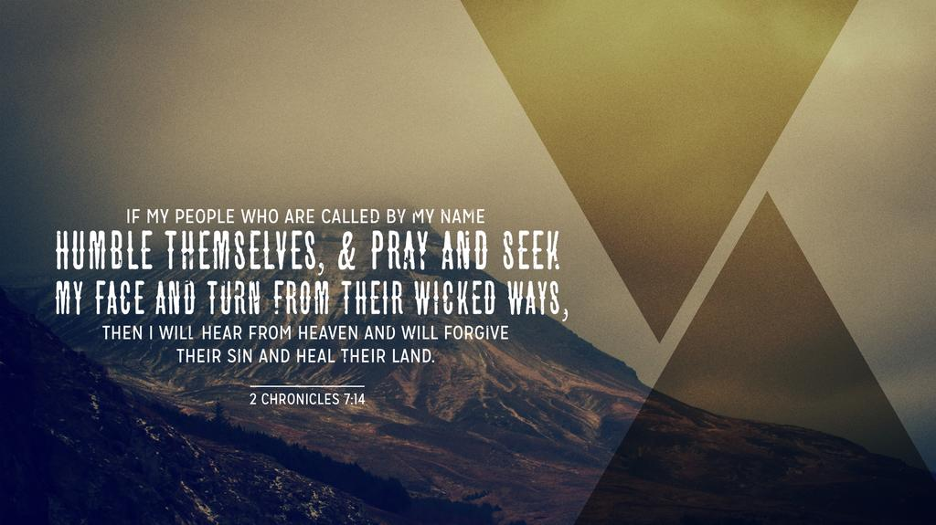 2 Chronicles 7:14 large preview