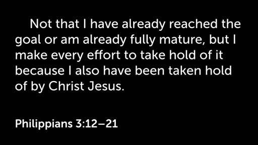 2 September AM - Philippians 12-21
