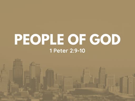 Sunday, September 2, CHOSEN People of God