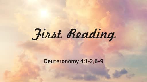 Sept 2, 2018 - Communion