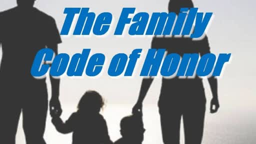 Sat., Sept. 1-2, 2018   Family Code of Honor