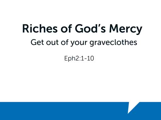 Riches of God's Mercy