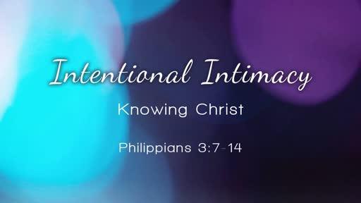 Intentional Intamacy