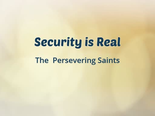 The Perserveriing Saints