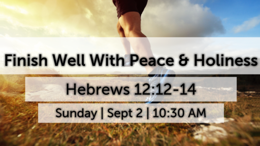 Finish Well With Peace and Holiness