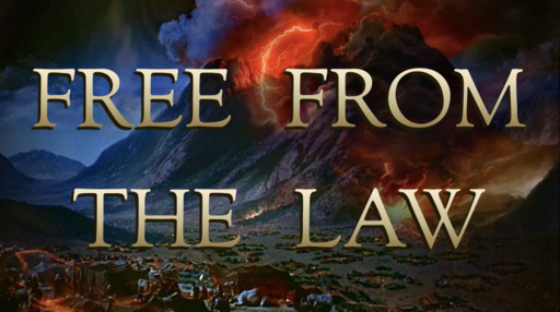 Free From the Law - David Franklin