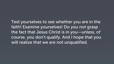 The Third Visit as Stern Accountability, Part 2 (2 Cor 13:5–10)