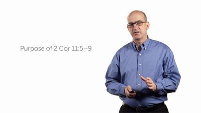 "Paul's Assessment of the ""Super Apostles,"" Part 1 (2 Cor 11:5–9b)"