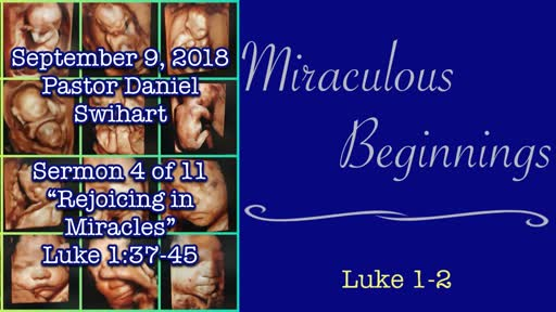 Rejoicing in Miracles