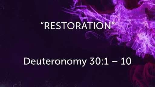 September  9 - Restoration