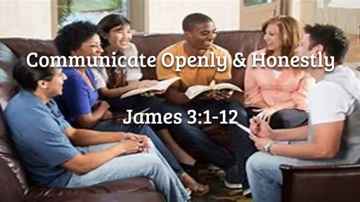 August 26 - Communicate Openly & Honestly