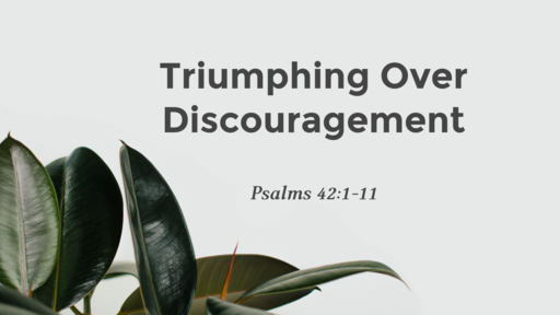 Triumphing Over Discouragement