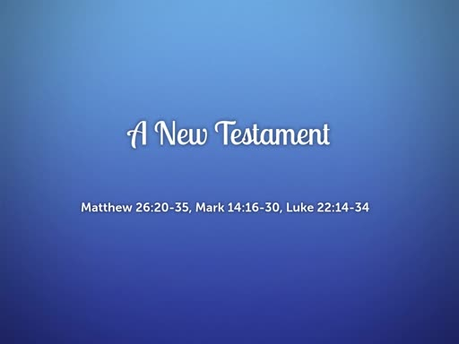 2018.09.09a A New Testament