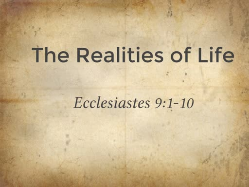 The Realities of Life