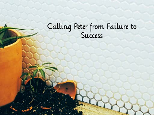 Calling Peter from Failure to Success