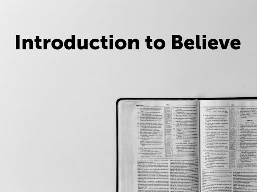 Introduction to Believe