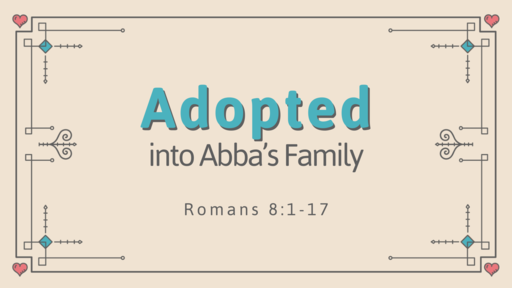 Adopted in Abba's Family