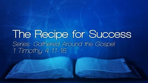 The Recipe for Success - September 9, 2018