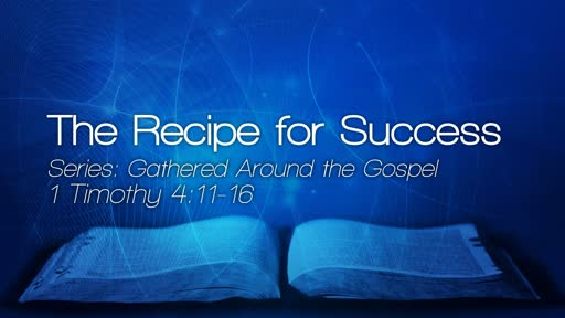 The Recipe for Success - September 9, 2018