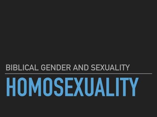 BG&S 7 Homosexuality