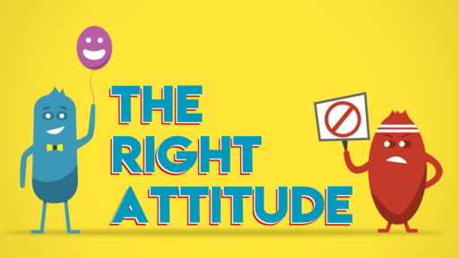 The Right Attitude: I'm Encouraging