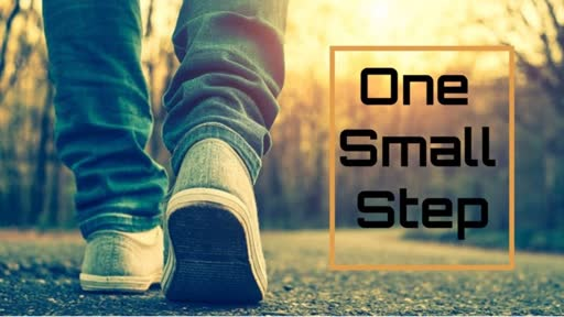 One Small Step-Being Spirit Led