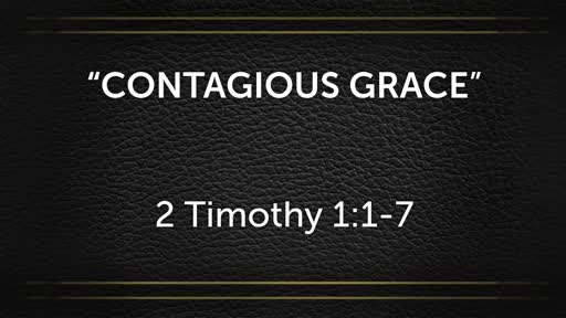 September 16 - Contagious Grace