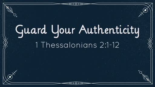 Guard Your Authenticity