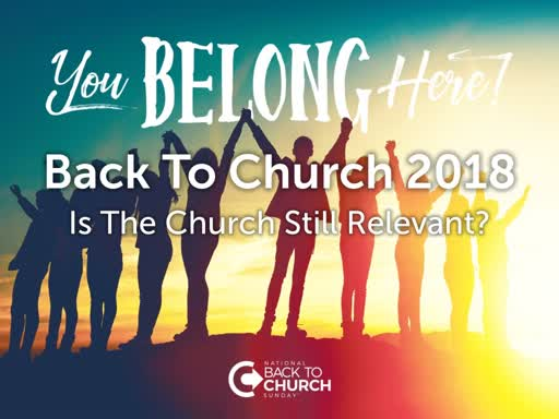 Back To Church 2018