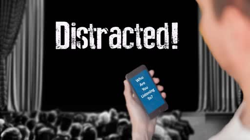 Distracted, Part 1: Distracted From God's Voice // David Spiegel