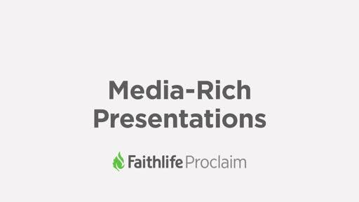 Media Rich Presentations