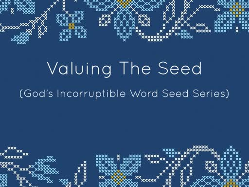 VALUING THE SEED
