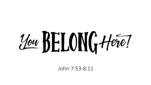 John 7:53-8:11
