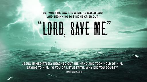 Matthew 14:30–31