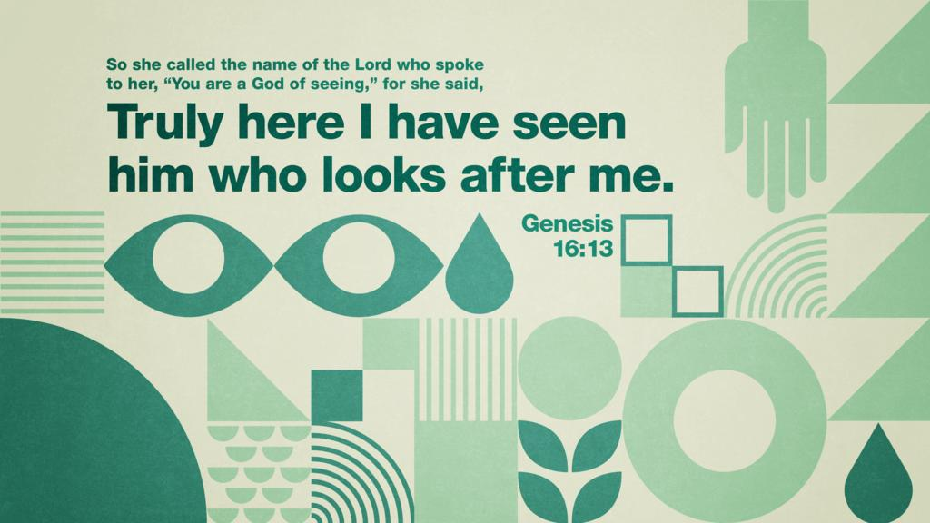 Genesis 16:13 large preview