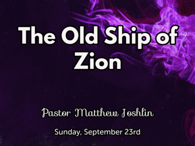 The Old Ship of Zion