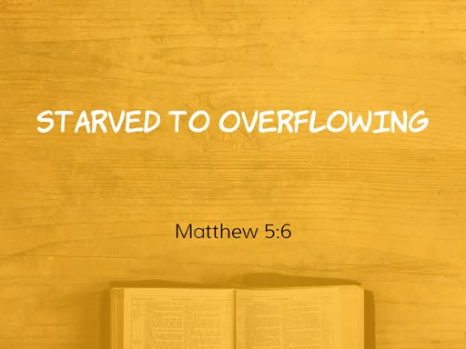 Starved to Overflowng