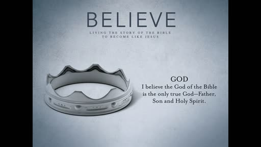 Believe Series Week 3