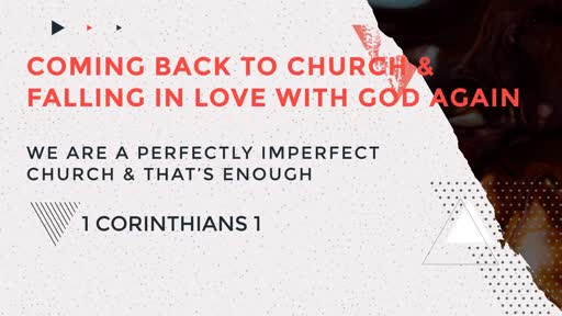 We Are a Perfectly Imperfect Church & That's Enough