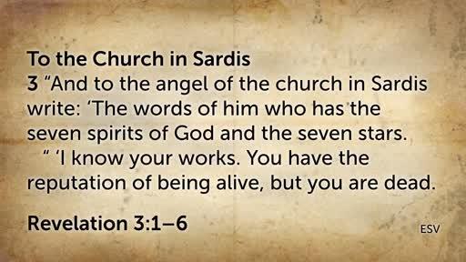 """""""Sardis: the Counterfeit Church"""""""