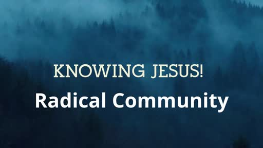 Knowing Jesus!