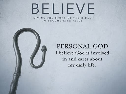 Believe - God is Personal