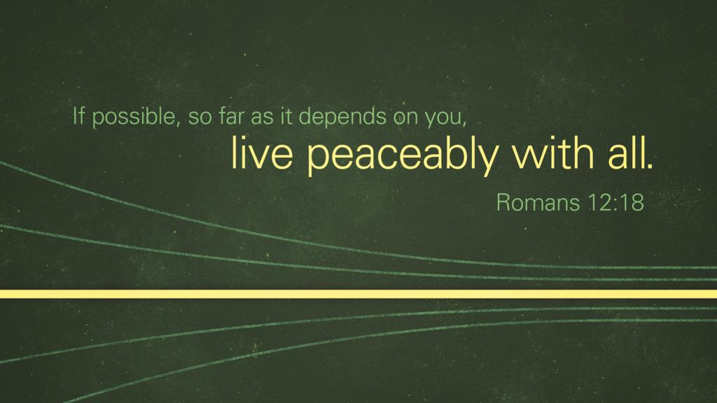 Romans 12:18 large preview