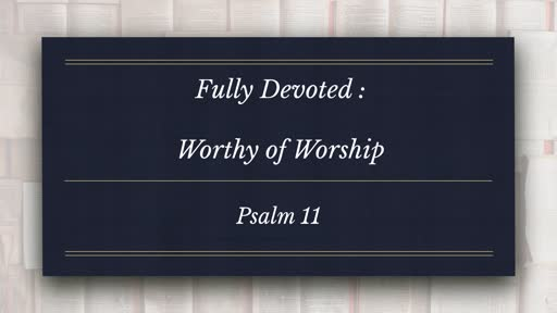 Worthy of Worship
