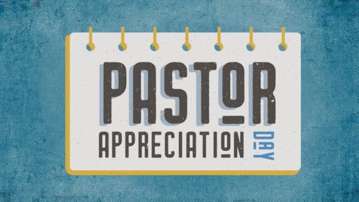 Pastor Appreciation Calendar
