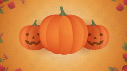 Pumpkin Carving 16x9 PowerPoint image