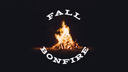 Harvest Bonfire content a PowerPoint image