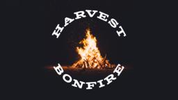 Harvest Bonfire 16x9 PowerPoint image