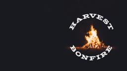 Harvest Bonfire event 16x9 PowerPoint image
